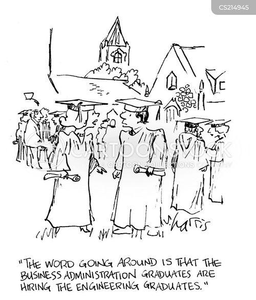 business administration cartoon