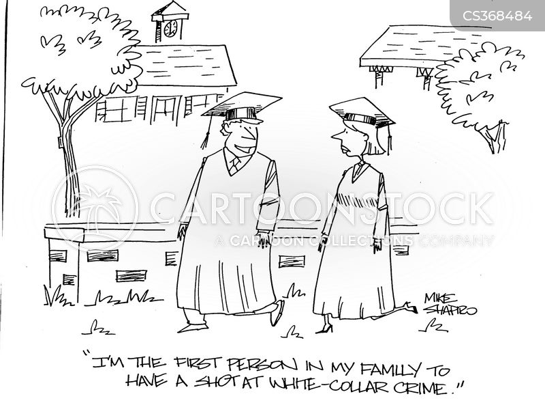 graduated cartoon