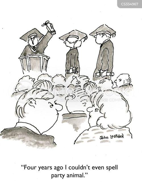 party schools cartoon