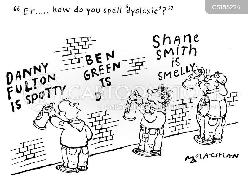 spelled cartoon