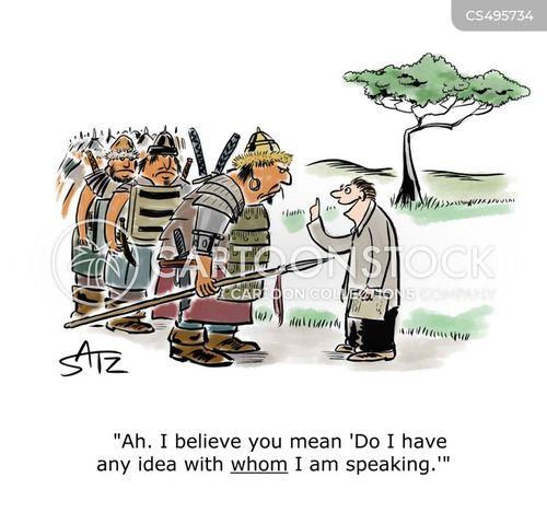 punctuation errors cartoon