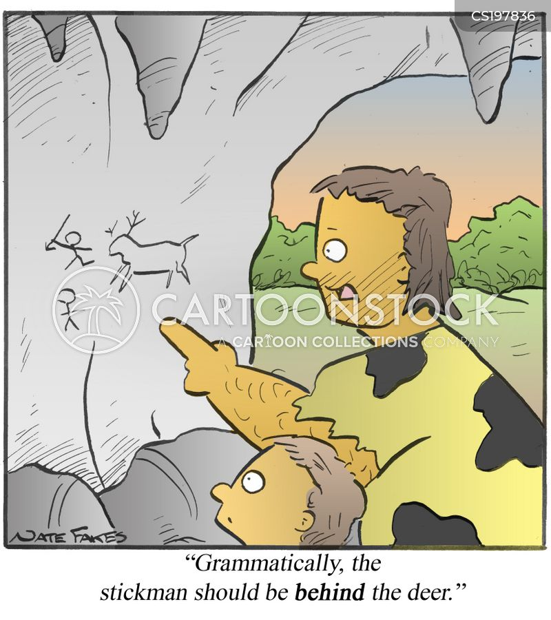 literacy lessons cartoon
