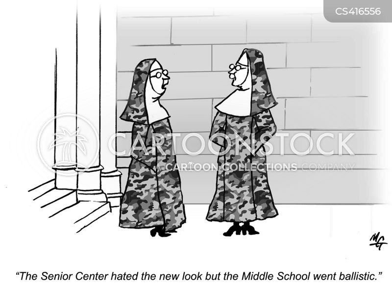 nunneries cartoon