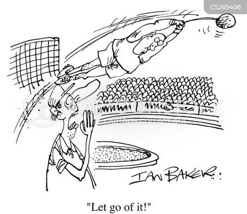 hammer throwers cartoon