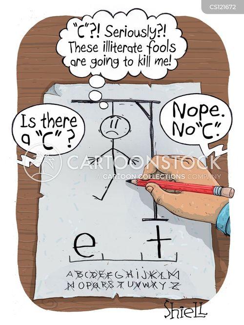 good spelling cartoon