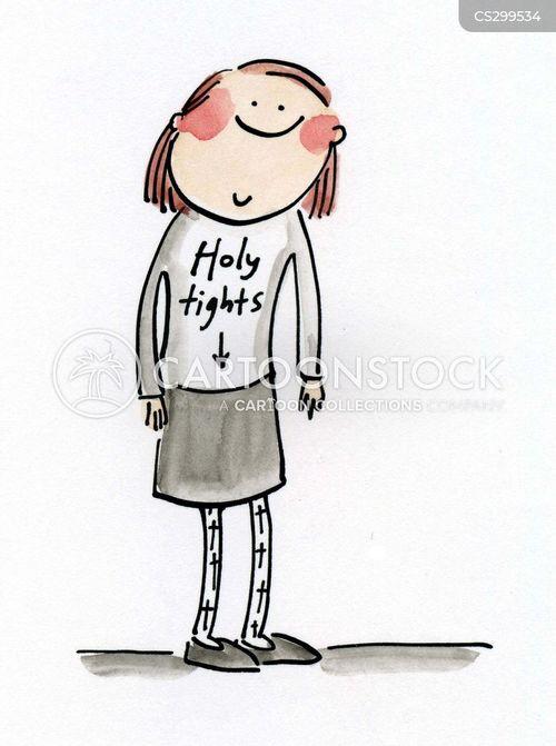 religious school cartoon