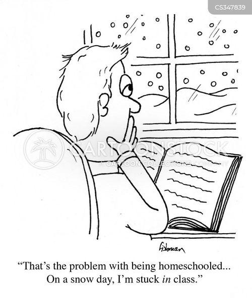 homeschool cartoon