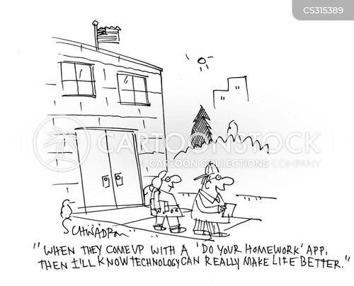 homeworks cartoon