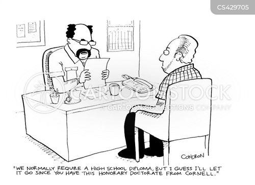 honorary doctorates cartoon