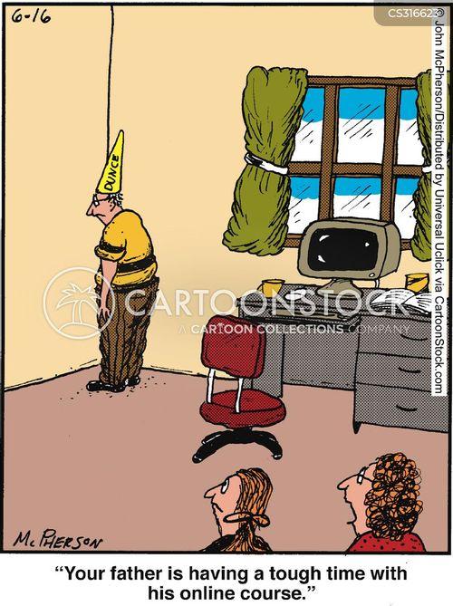 on line cartoon