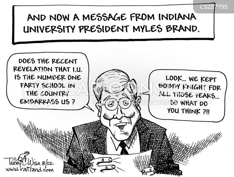 bobby knight cartoon