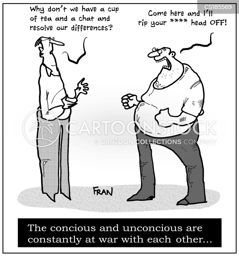 unconscious cartoon