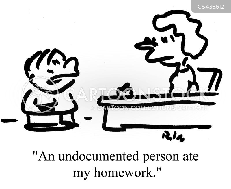 illegal immigration cartoon