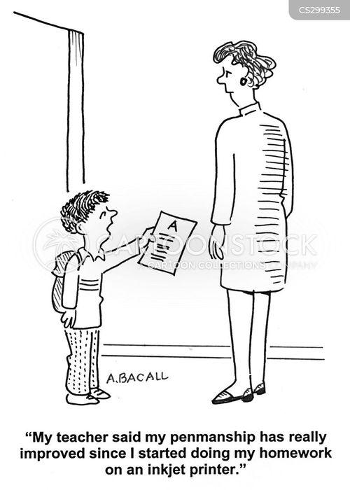 inkjet printers cartoon