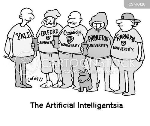 harvard university cartoon