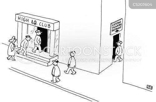 lateral thinking cartoon