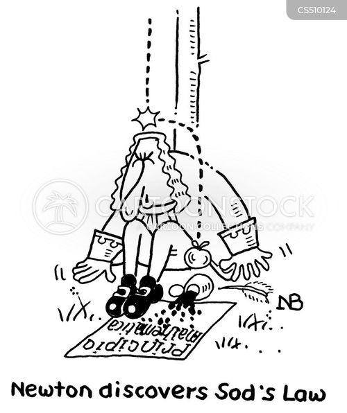 theory of gravity cartoon