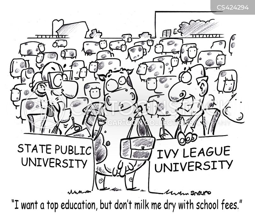 state universities cartoon