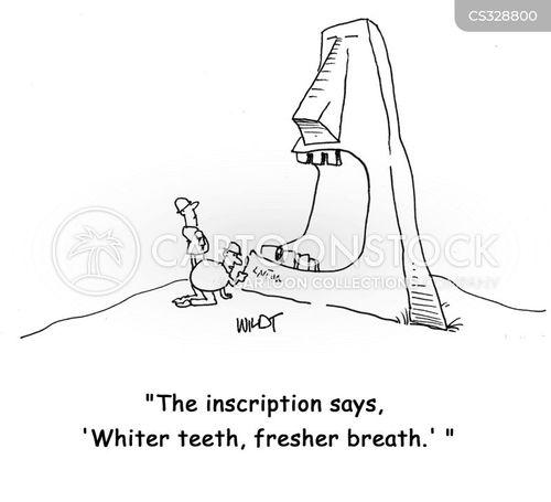 fresh breath cartoon