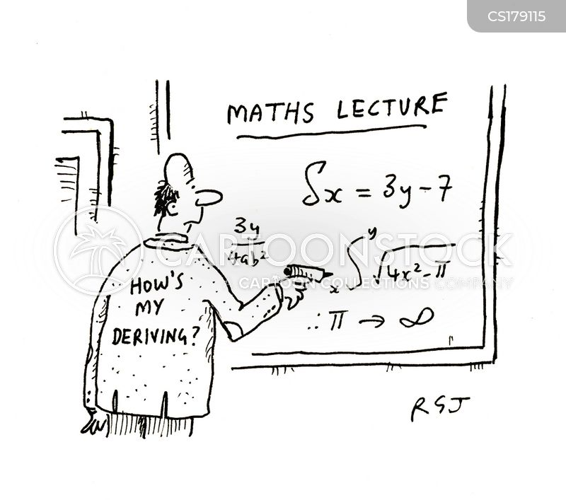 Math Teacher Cartoons and Comics - funny pictures from CartoonStock