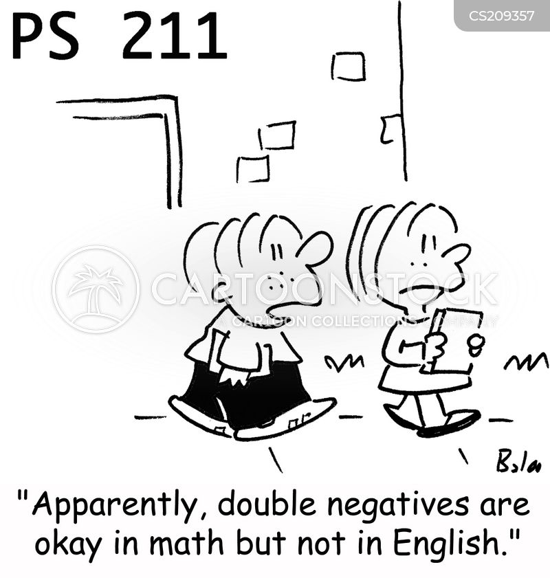 negatives cartoon