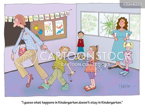 troublemaking cartoon