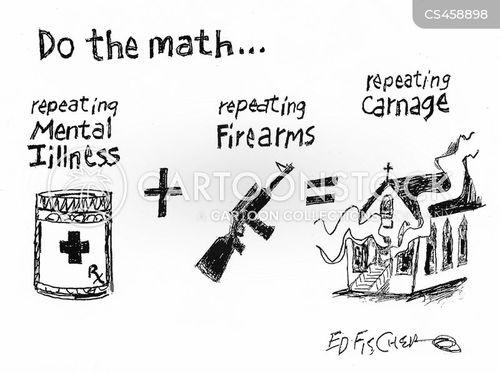 assault rifle cartoon