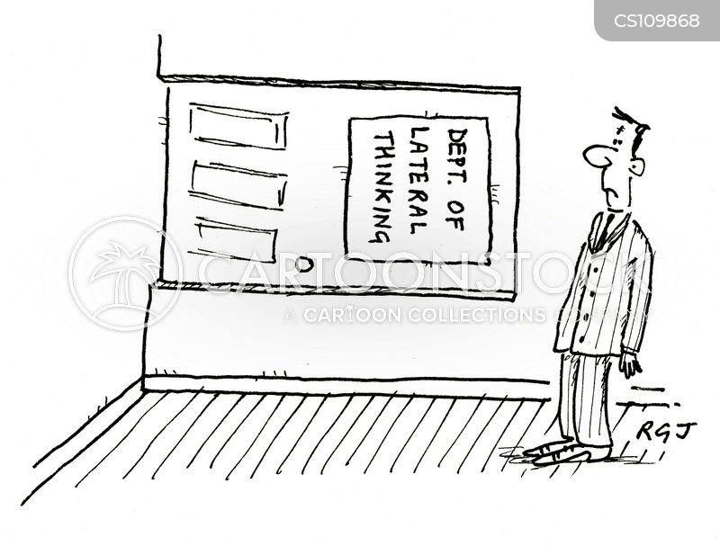 department of lateral thinking cartoon
