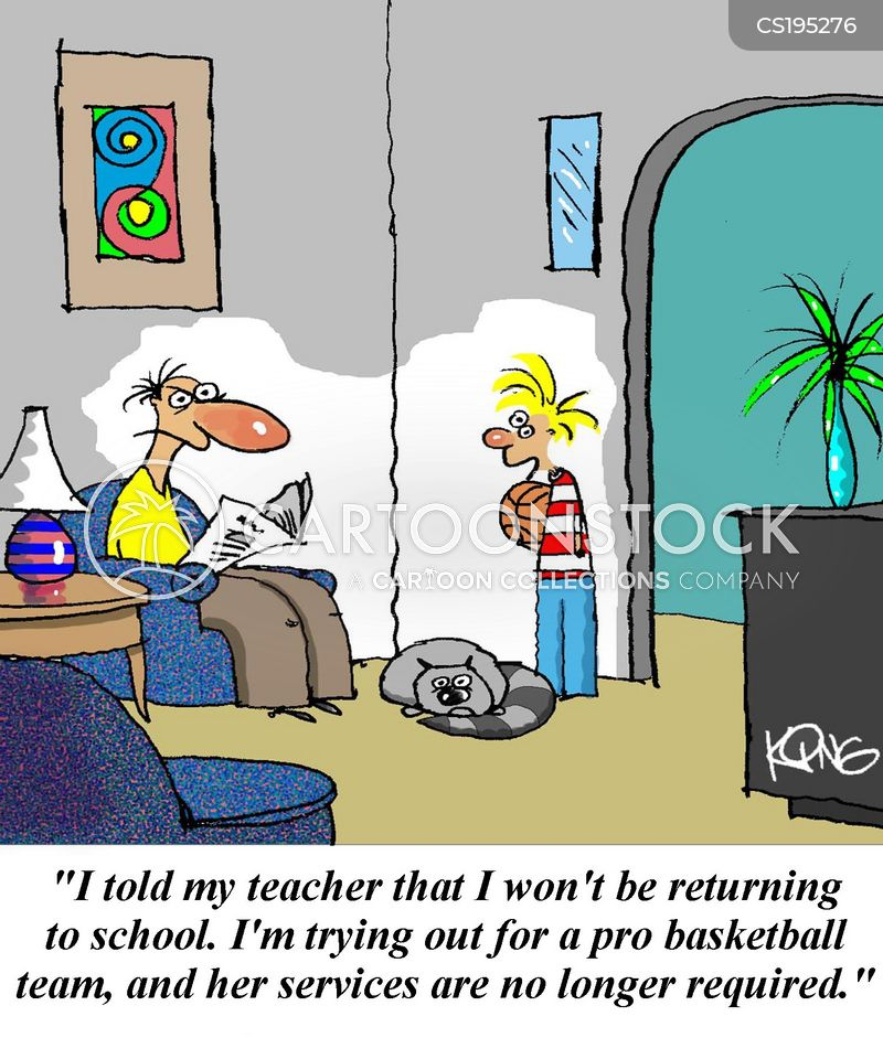Leave School Cartoons and Comics - funny pictures from CartoonStock