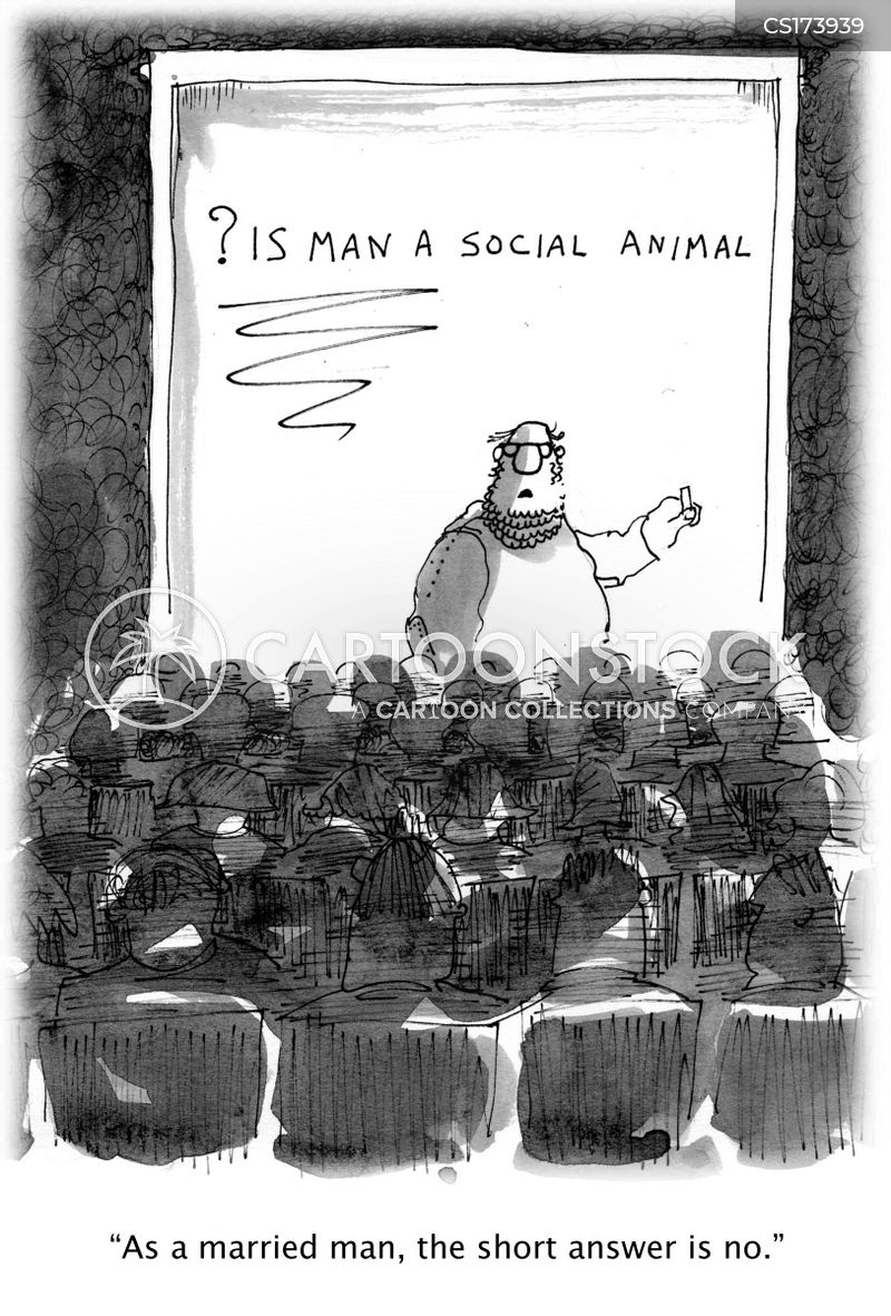animal behaviour cartoon