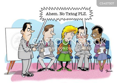 office rule cartoon