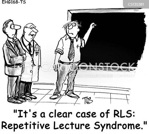 uni professor cartoon