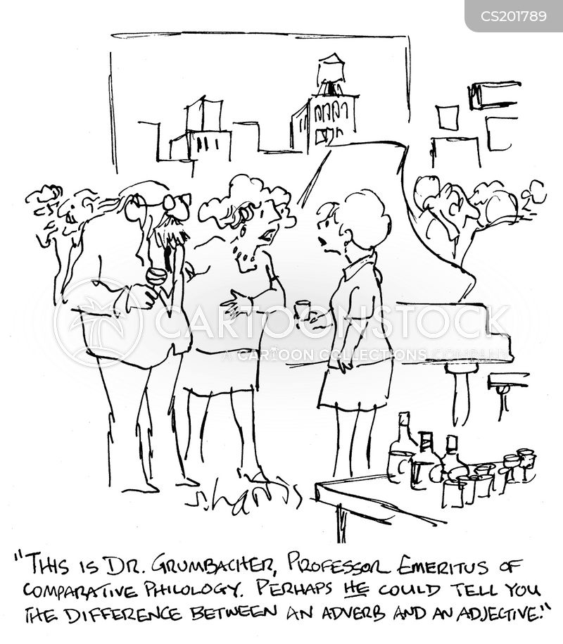 Worksheets Adjectives Definition Drawing adjective cartoons and comics funny pictures from cartoonstock cartoon 3 of 9