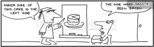 slice of cake cartoon