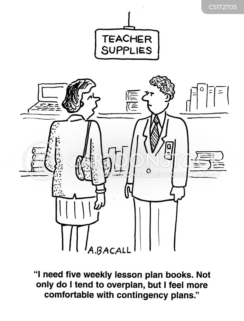 Lesson Plan Books Cartoons And Comics  Funny Pictures From Cartoonstock