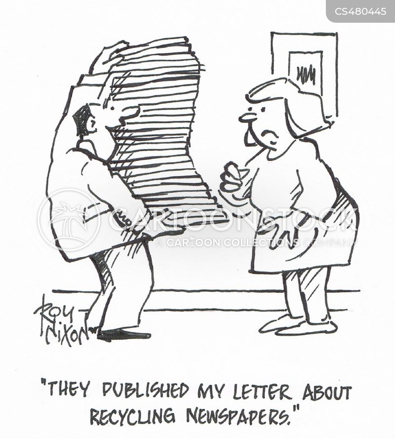 letter to the editor cartoon