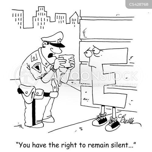 silent letter cartoon