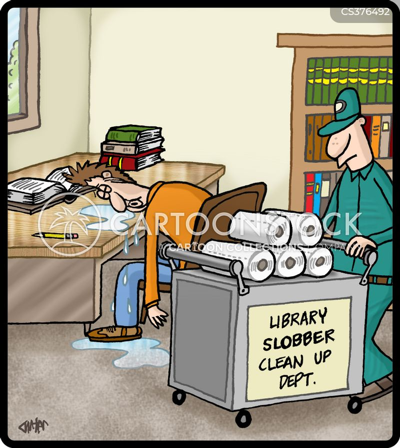 slobbers cartoon
