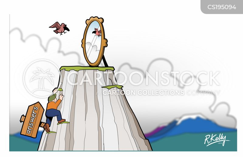 mountaintops cartoon