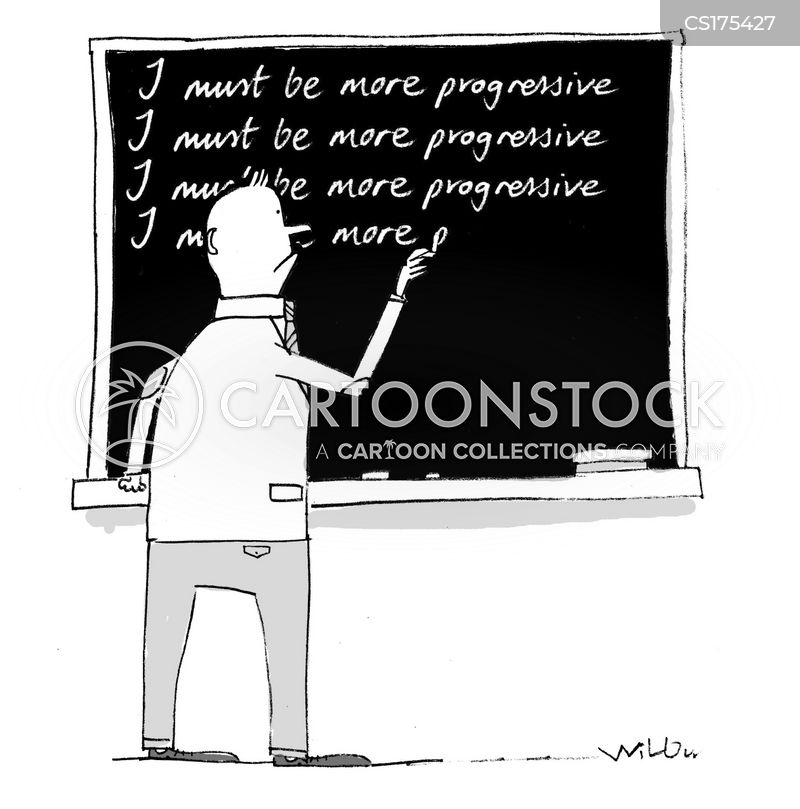 blackboards cartoon