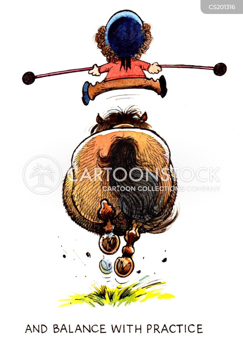 balancing acts cartoon