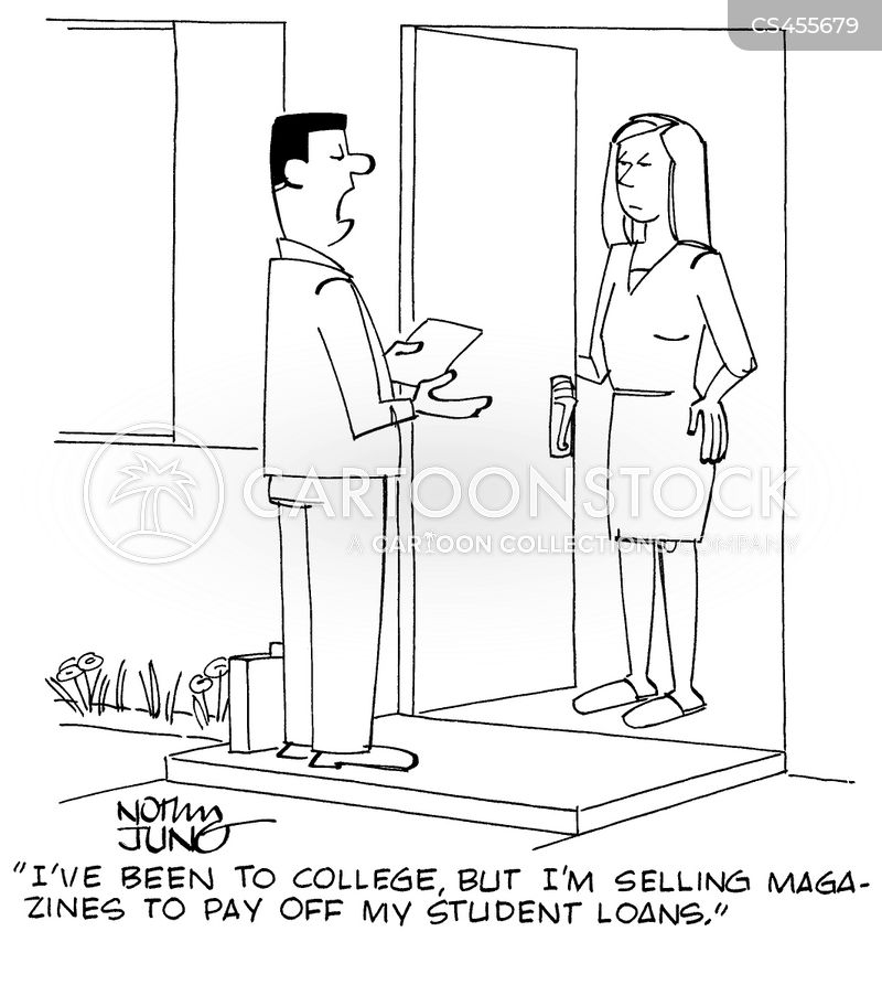 magazine subscriptions cartoon
