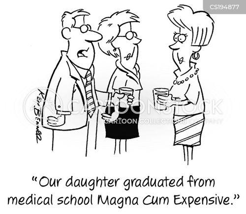 medical schools cartoon