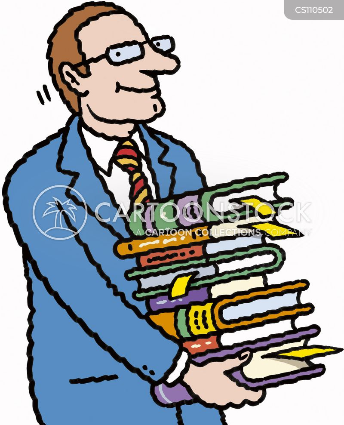 bookmark cartoon