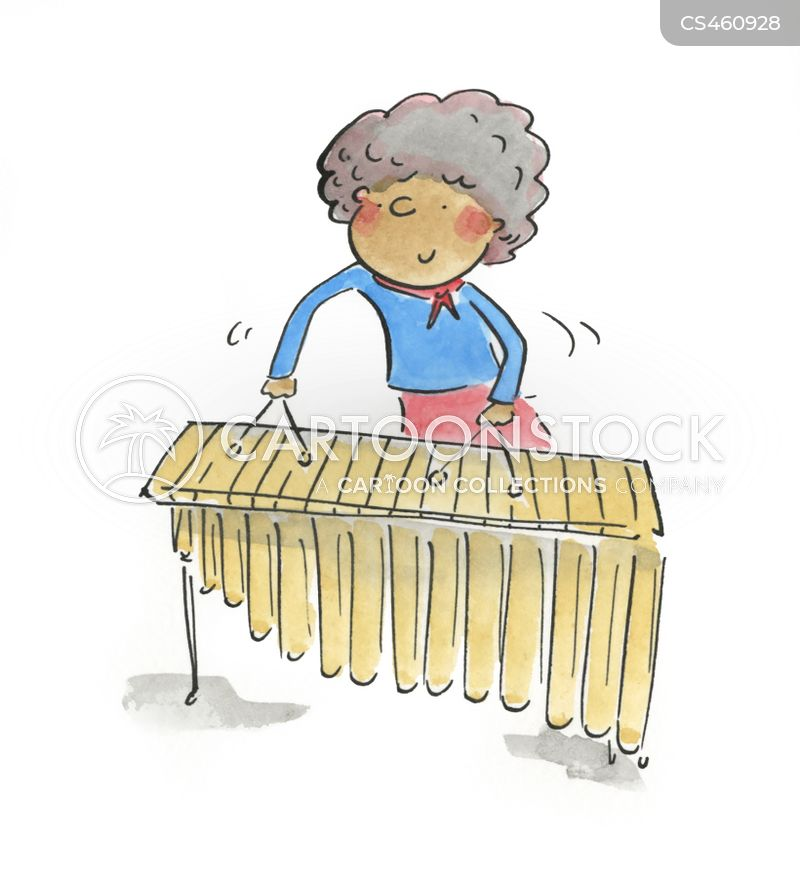 xylophones cartoon