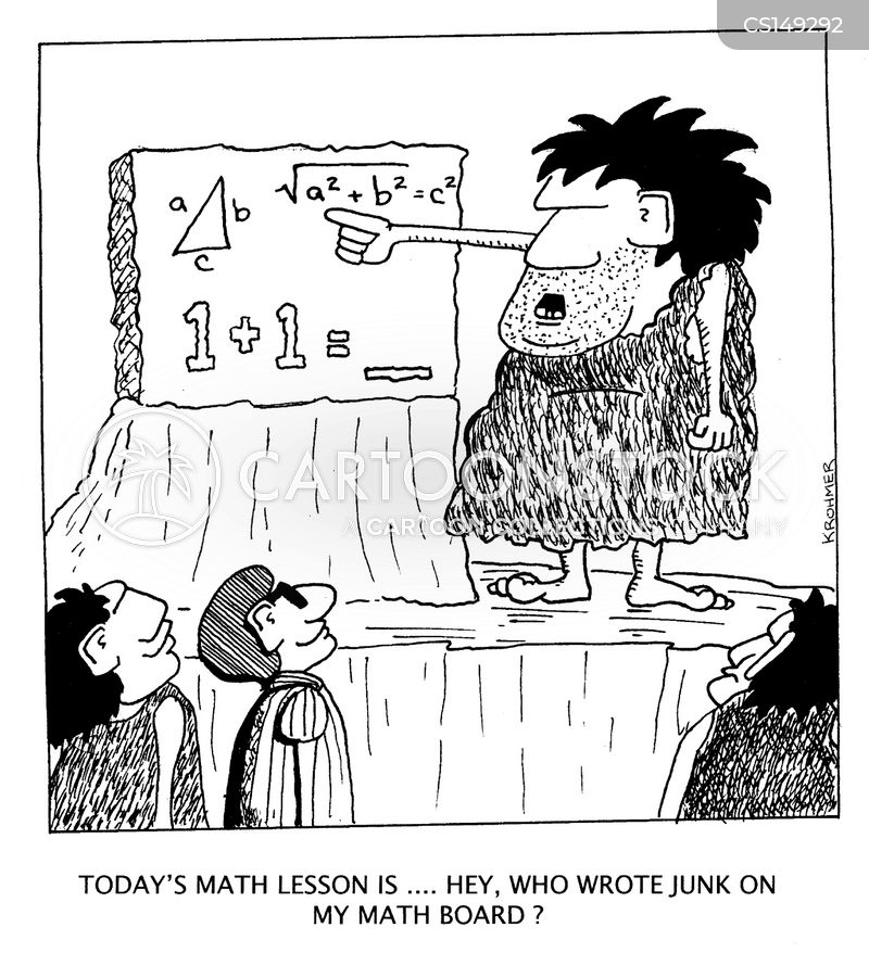 trigonometry cartoon