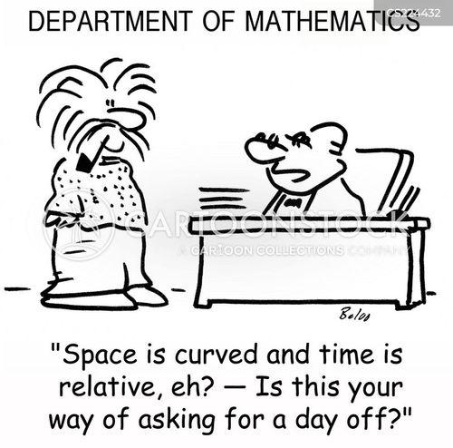 curved cartoon