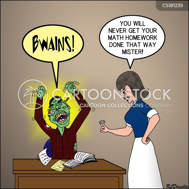 math homework cartoons and comics funny pictures from cartoonstock  you will never get your math homework done that way mister