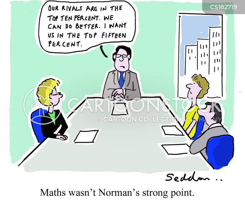 Math Skill Cartoons and Comics - funny pictures from CartoonStock