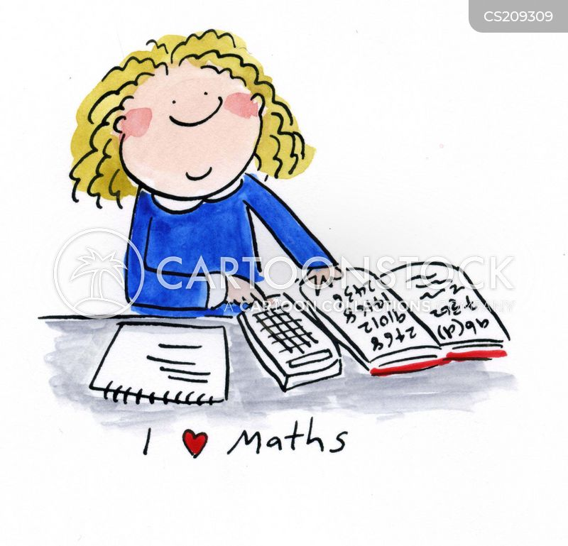 Math Cartoon, Math Cartoons, Math Bild, Math Bilder, Math Karikatur, Math Karikaturen, Math Illustration, Math Illustrationen, Math Witzzeichnung, Math Witzzeichnungen